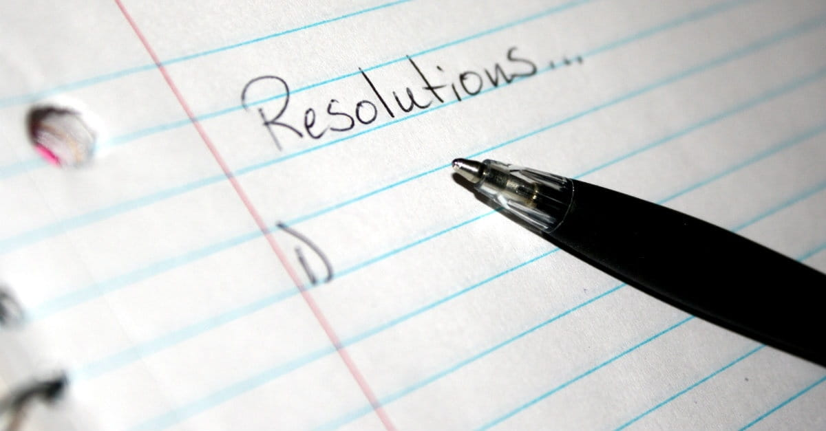 5 Biblical New Year's Resolutions