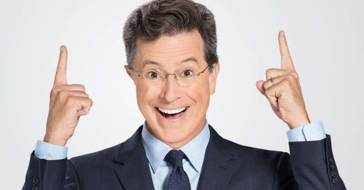 Stephen Colbert Quotes Scripture in Refugee Debate