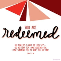 You Are Redeemed!