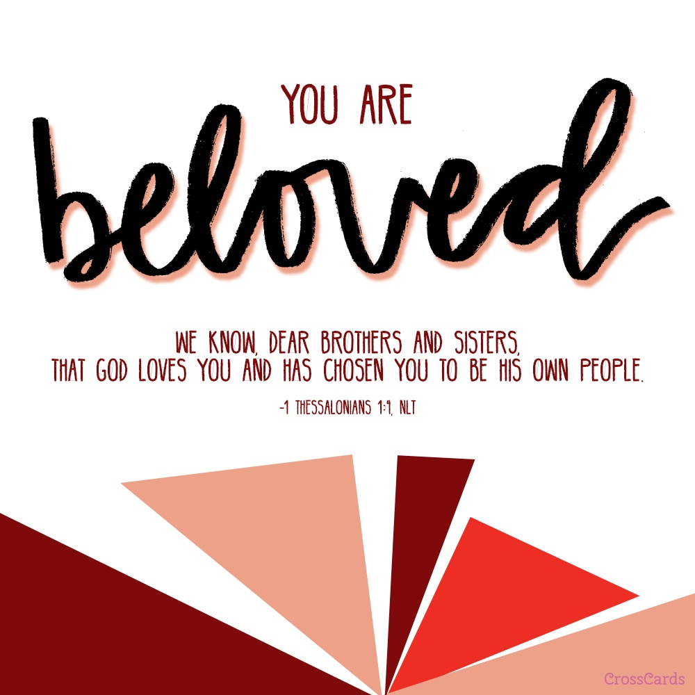 You are Beloved! ecard, online card