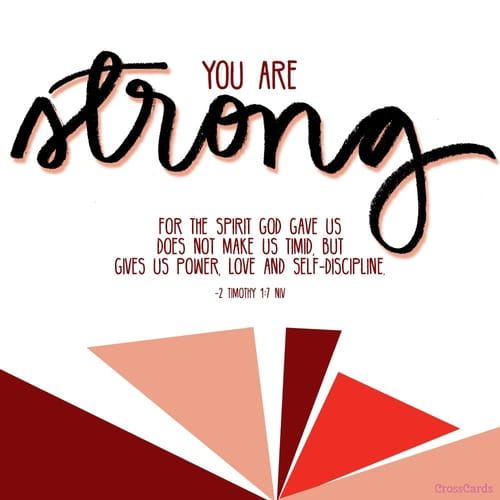 You Are Strong!