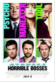 Black Comedy Goes Bawdy in <i>Horrible Bosses</i>