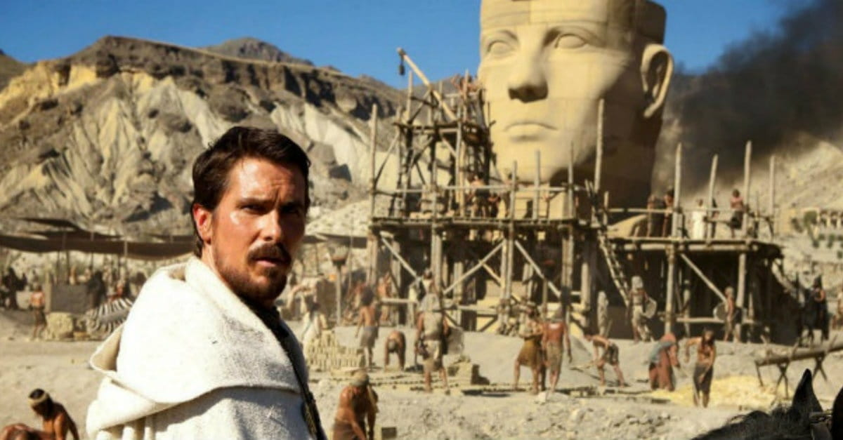 "Christian Bale Sparks Outrage for Calling Moses ""Barbaric"" and ""Schizophrenic"""