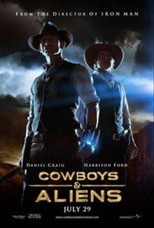 Intense <i>Cowboys & Aliens</i> Shoots 'Em Up