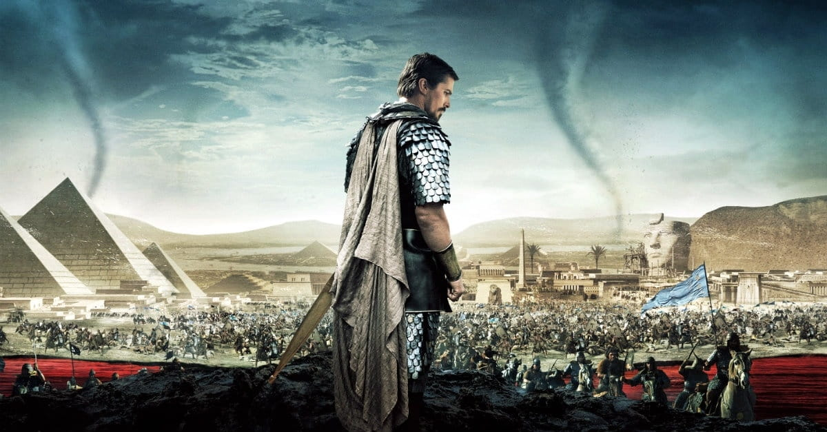 Psychotic Moses, Scientific 'Miracles' Doom Ridley Scott's <i>Exodus</i>