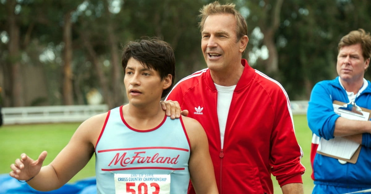 Just Relax and Enjoy a Very Uplifting <i>McFarland, USA</i>
