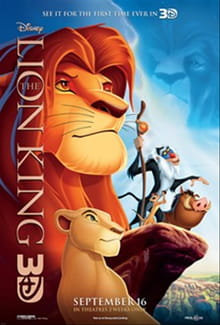 3D Does Little to Improve <i>The Lion King</i>