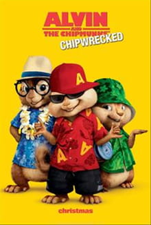 The Chipmunks Take It Easy in <i>Chipwrecked</i>