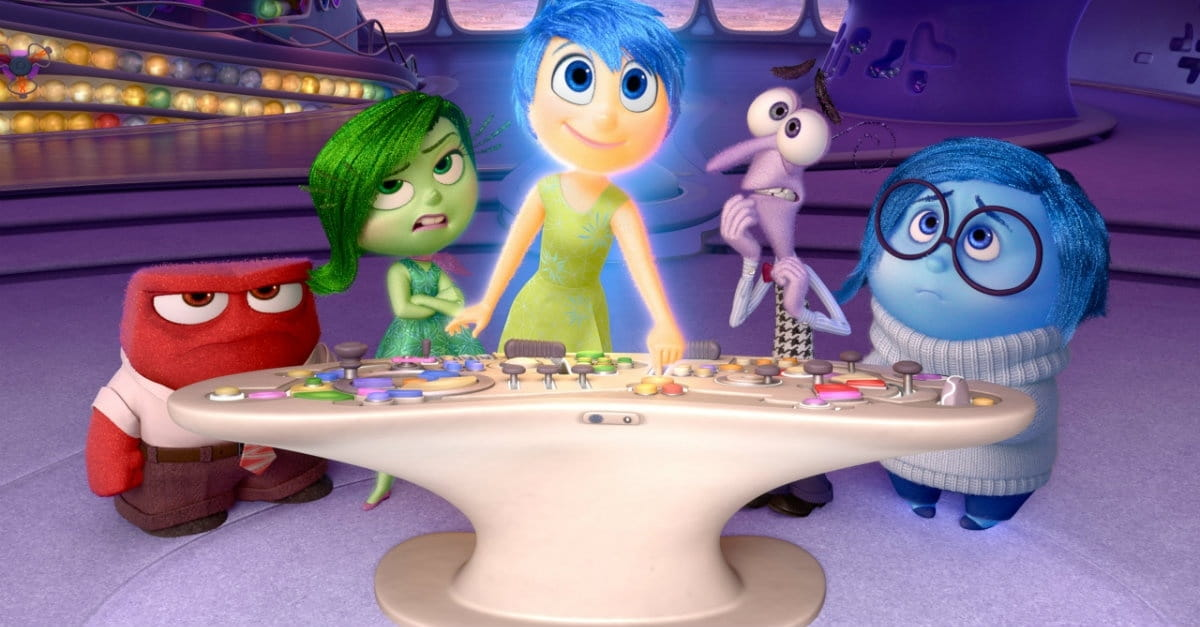 Inside out a literal train ride of emotions in the best way possible