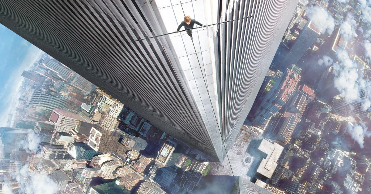 Vertigo-Inducing <i>The Walk</i> Nonetheless One of the Most Beautiful Films Ever