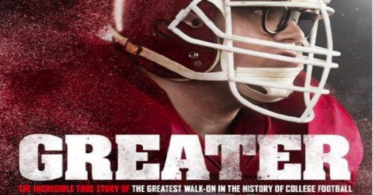 Life's <i>GREATER</i> Purpose Spotlighted in New Faith-and-Football Film