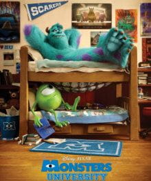 Pixar's Monsters University Review