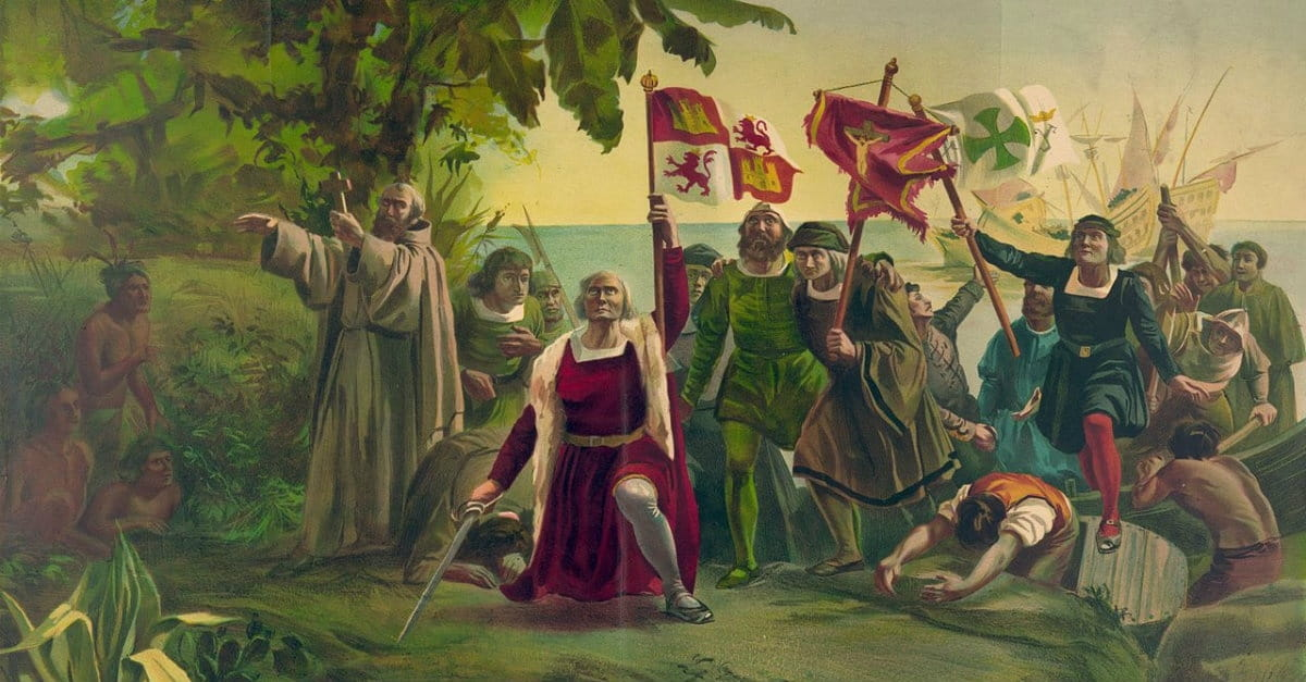 Christopher columbus is bad