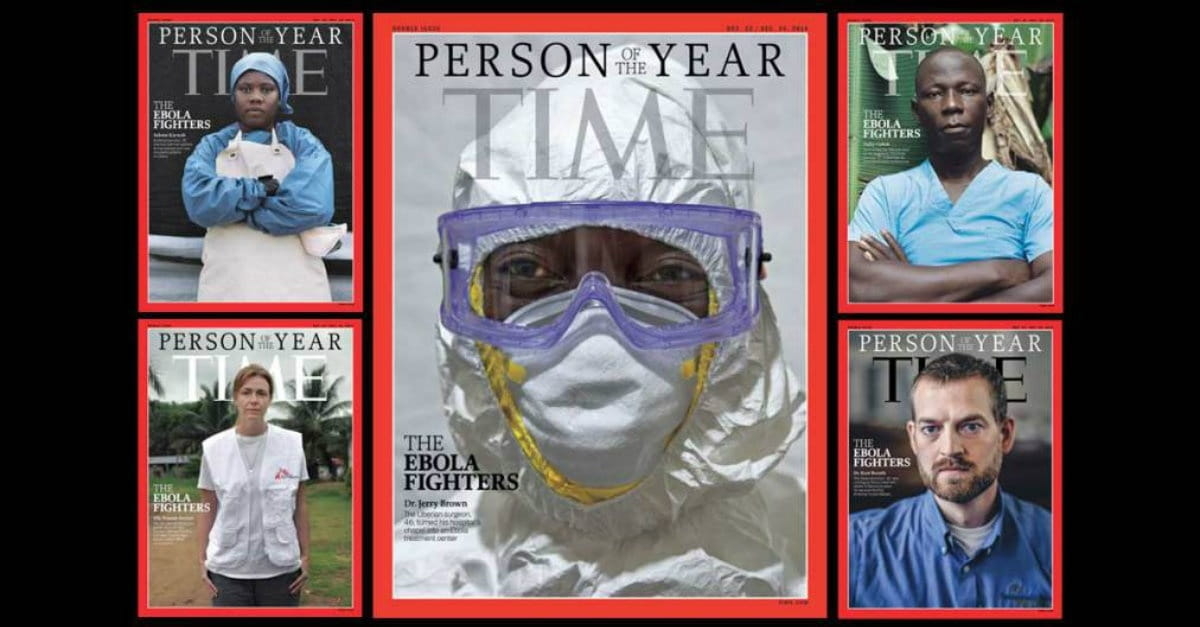 Ebola Fighters as Person of the Year a Courageous & Worthy Choice