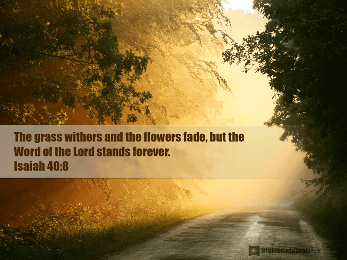 The Word Stands Forever