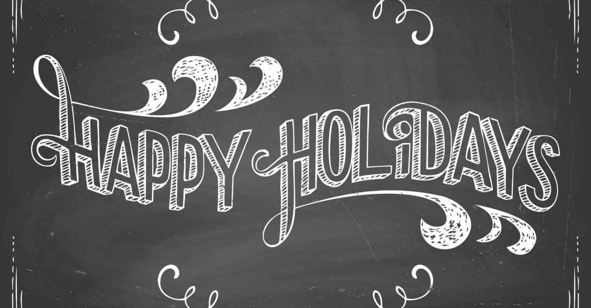 5 Reasons Not to Complain about 'Happy Holidays'