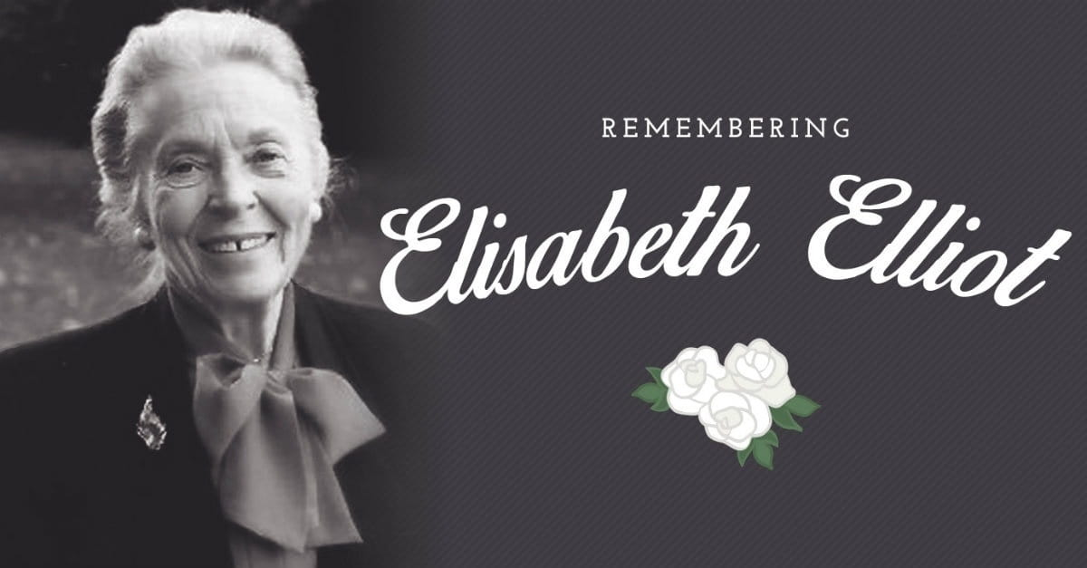20 Inspiring Quotes from Elisabeth Elliot