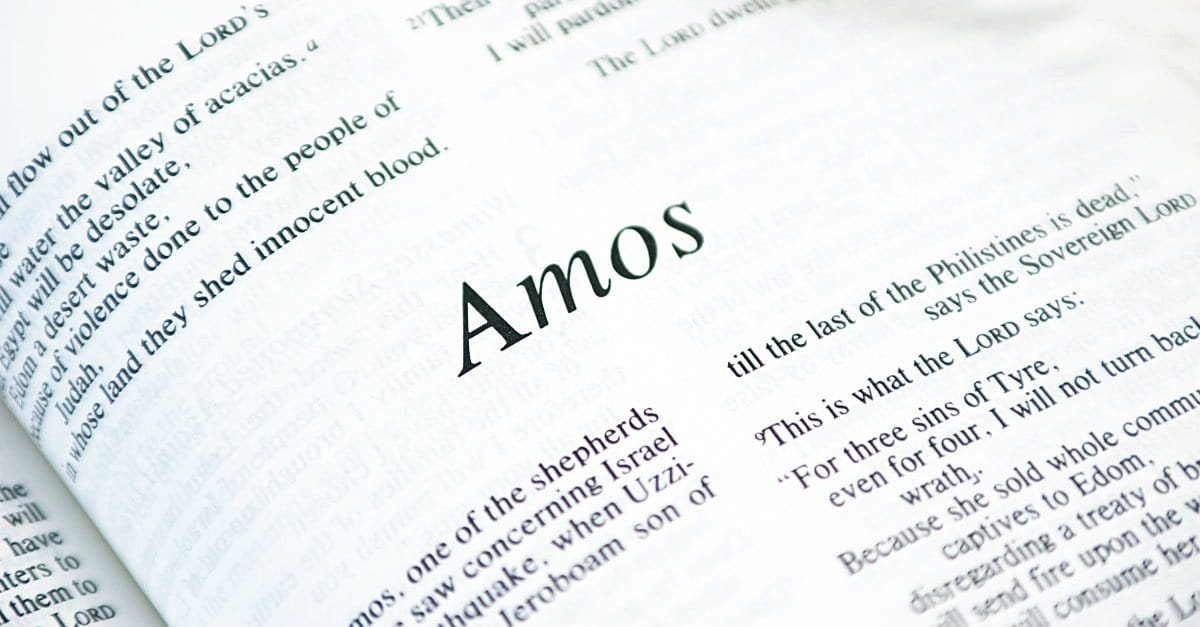 4 Ways the Gospel Appears in the Book of Amos - Bible Study