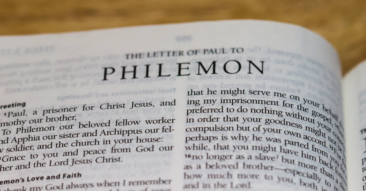 Nuggets from the Book of Philemon : Christian Courier