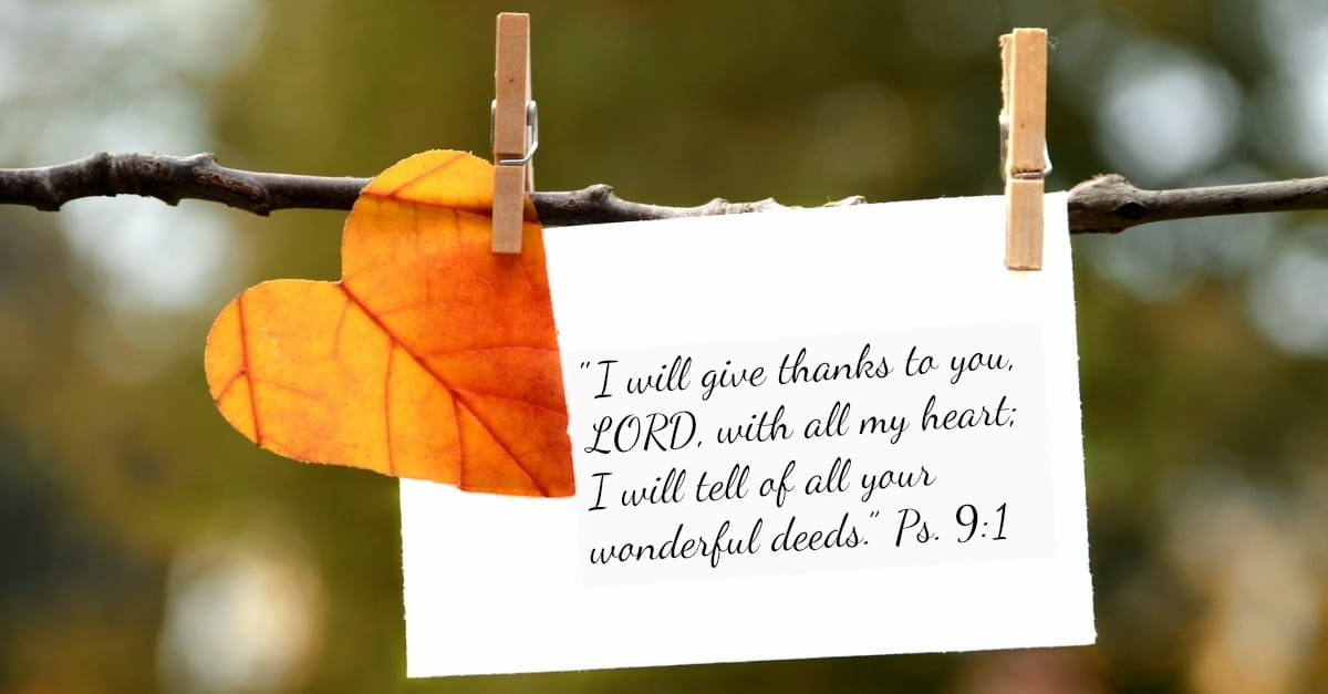 The Power Of Gratitude 21 Verses Of Thanks To God