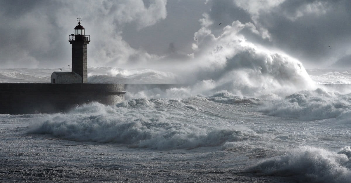 3 Things to Do When a Sea of Fear is Raging All Around You