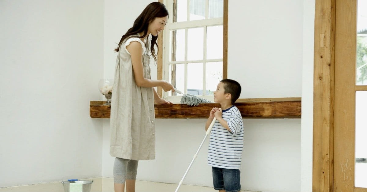Getting Preschool Kids to Help with Chores