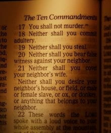Which of the Ten Commandments is the Most Important?