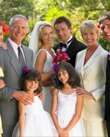 Walking Down the Aisle as a Modern Family