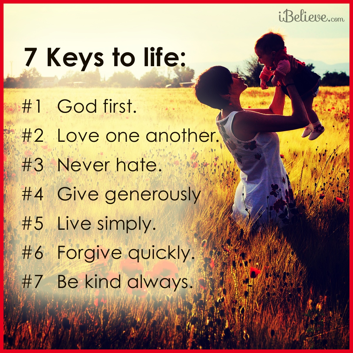 7 Keys to a Godly Life