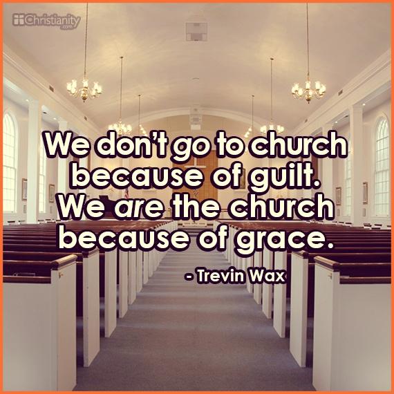 Grace, Not Guilt