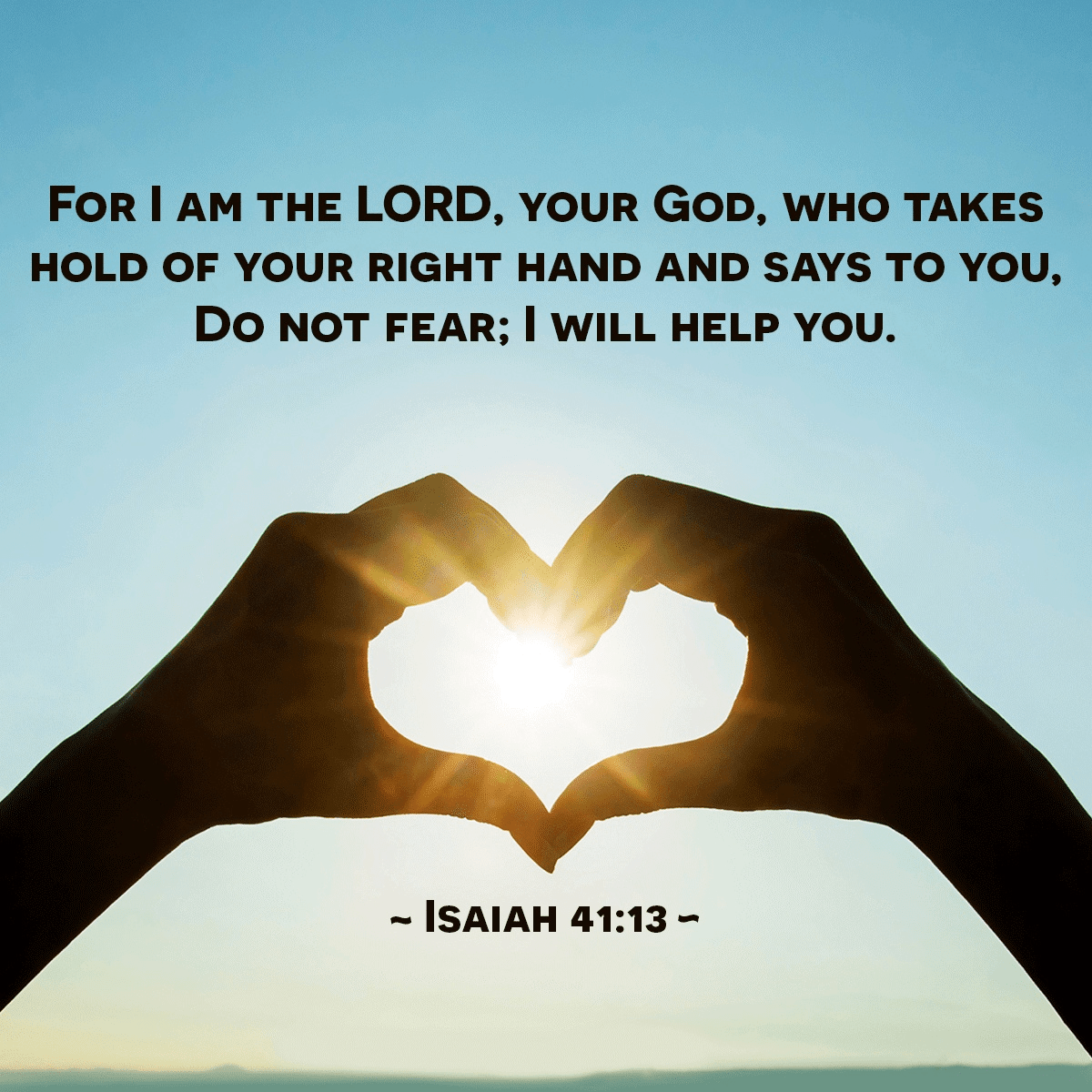 Do Not Fear; I Will Help You