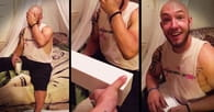 Tough Guy SOBS Over This Surprising Birthday Present!