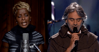 Andrea Bocelli with Mary J. Blige: What Child is This?