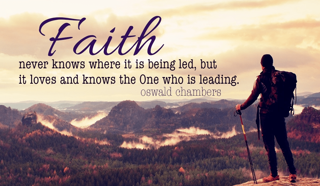 If It Were Easy, It Wouldn't Be Called FAITH!