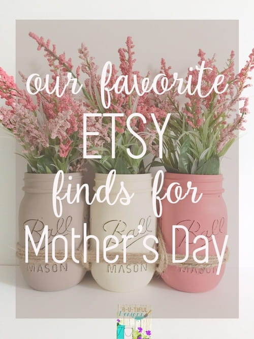 Our Favorite Etsy Finds for Mother's Day