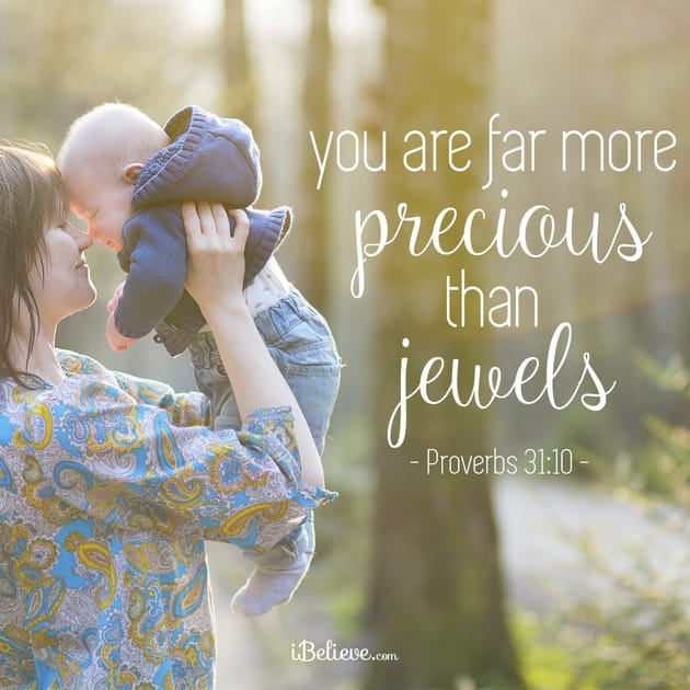 You are Far More Precious than Jewels