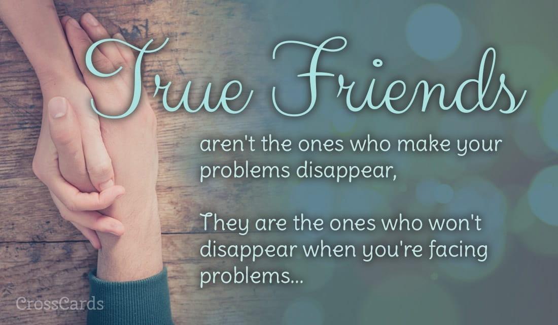 You are My True Friend