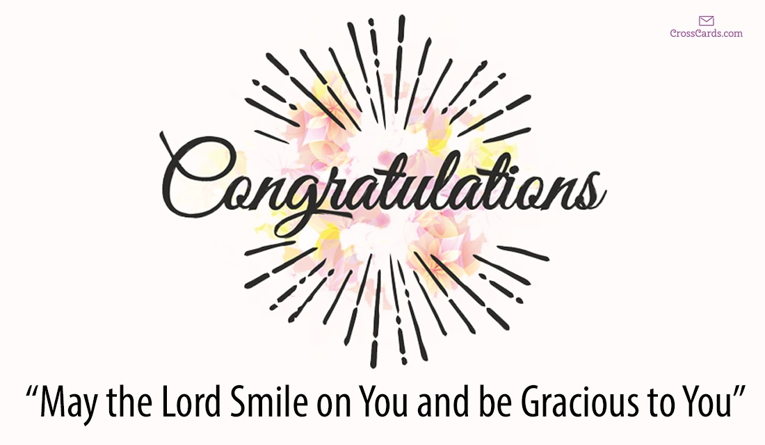 Free Congratulations Ecards - Email Personalized Christian Cards