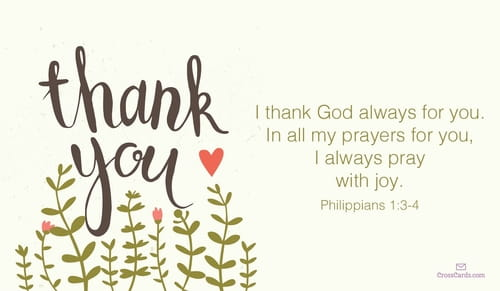 I Thank God Always for You