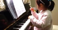 Three Year Old Girl Will Astound You With Her Ability to Play Piano!