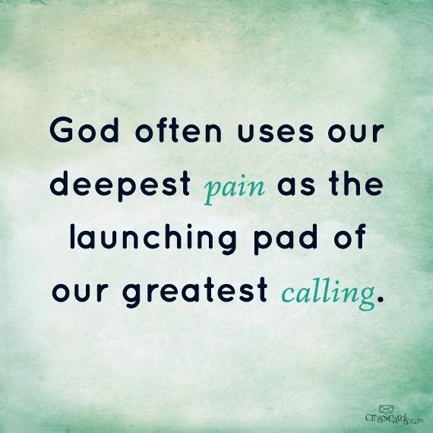Our Deepest Pain, Our Greatest Calling