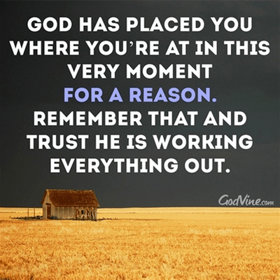 Trust that He is Working Everything Out