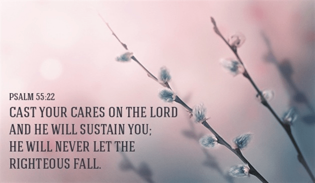 Cast Your Cares on the Lord!