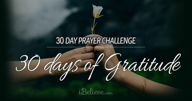 30-Day Prayer Challenge: 30 Days of Gratitude