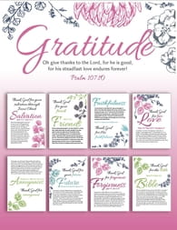 Gratitude Reminders for You to Print and Enjoy