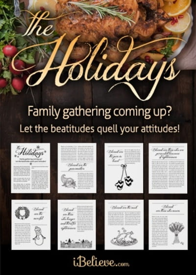Surviving the Holidays: A Beatitudes Study