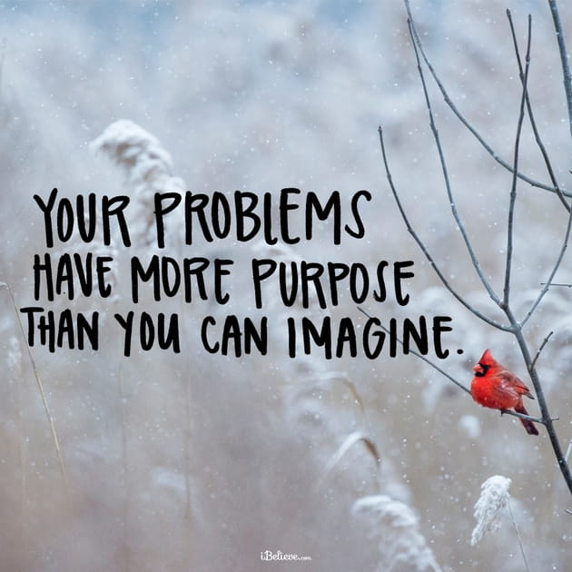 Your Problems Have More Purpose than You Can Imagine