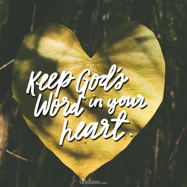 Keep God's Word in Your Heart