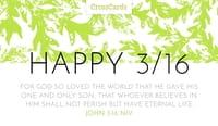 Happy 3/16 Day!