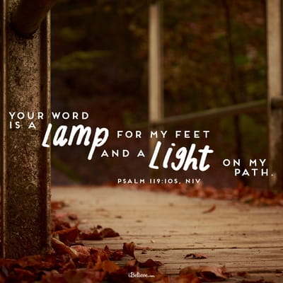 Your Word is a Lamp for My Feet